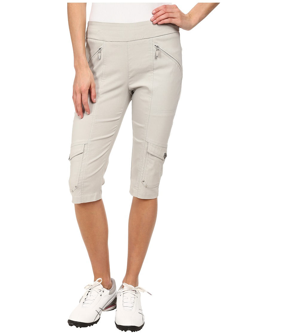 Jamie Sadock - Skinnylicious 24 in. Knee Capri (Dove Grey) Women's Capri