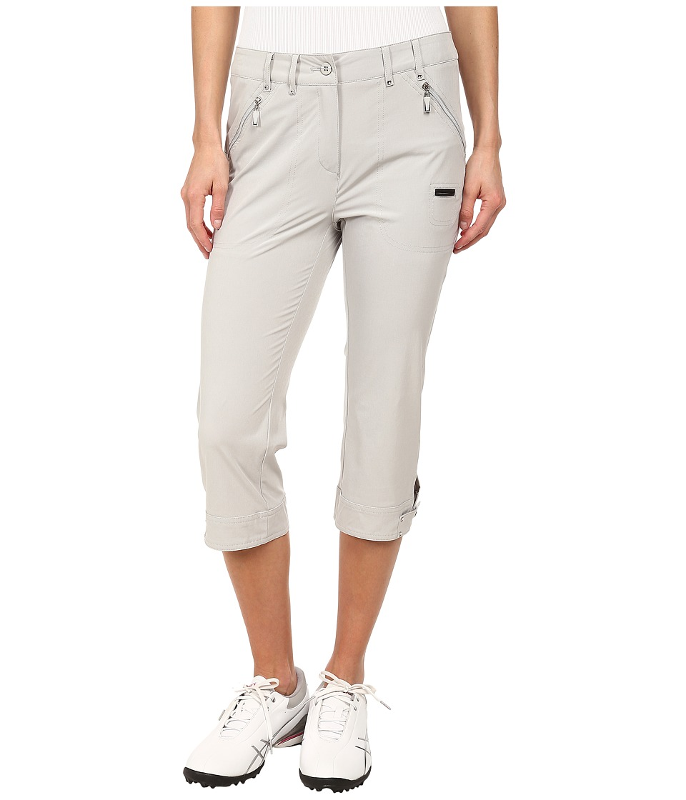 Jamie Sadock - Airwear Light Weight 28.5 in. Pedal Pusher (Dove Grey) Women's Capri