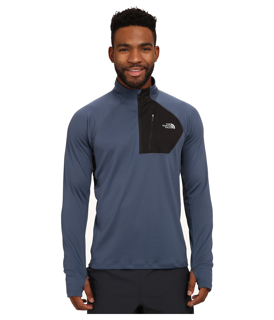 The North Face - Impulse Active 1/4 Zip Pullover (Conquer Blue/TNF Black) Men's Long Sleeve Pullover