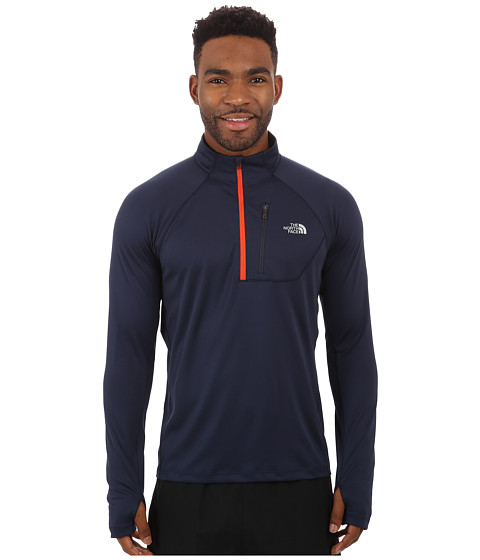 The North Face - Impulse Active 1/4 Zip Pullover (Cosmic Blue) Men's Long Sleeve Pullover