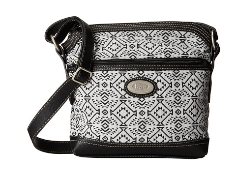 b.o.c. - Nuevo Leon Large Crossbody (Light Ground/Black Trim) Cross Body Handbags