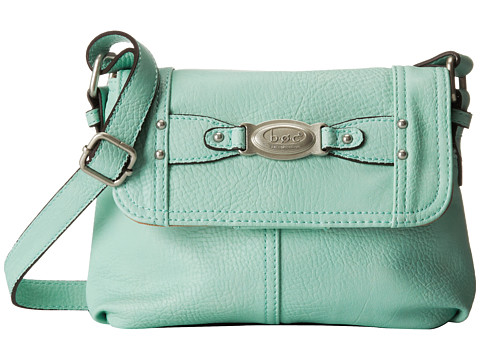 b.o.c. - Colima Small Flap Crossbody (Mint) Cross Body Handbags