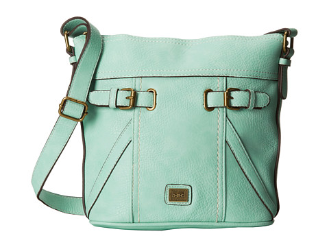 b.o.c. - Annapolis Large Bucket Crossbody (Mint) Cross Body Handbags