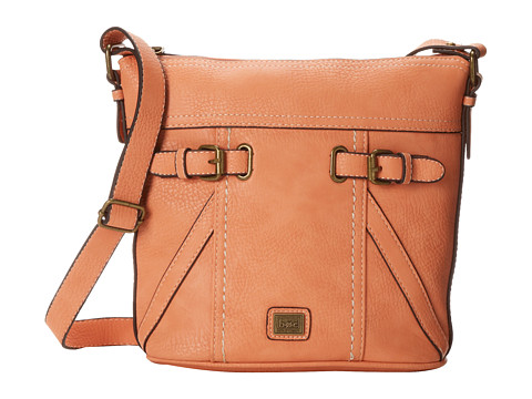 b.o.c. - Annapolis Large Bucket Crossbody (Coral) Cross Body Handbags