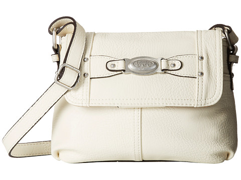 b.o.c. - Colima Small Flap Crossbody (Bone) Cross Body Handbags