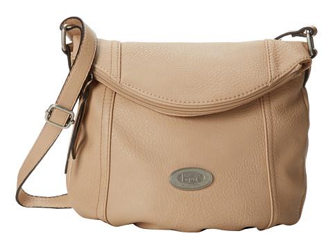 b.o.c. - Cumberland Zip Flap Crossbody (Stone) Cross Body Handbags