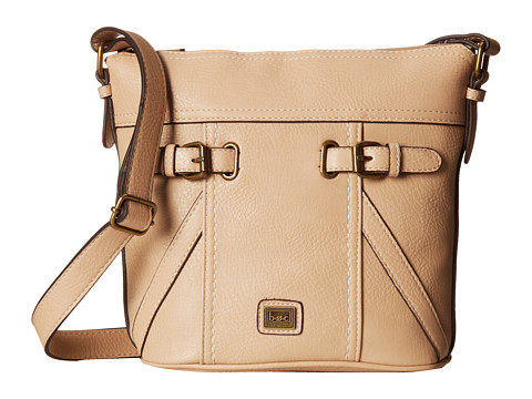 b.o.c. - Annapolis Large Bucket Crossbody (Stone) Cross Body Handbags