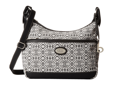 b.o.c. - Nuevo Leon Large Hobo (Light Ground/Black Trim) Hobo Handbags
