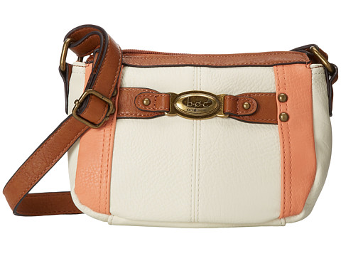 b.o.c. - Colima Mini TZ (Bone/Stone) Top-Zip Handbags
