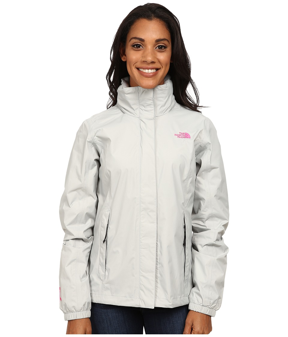 The North Face - PR Resolve Jacket (High Rise Grey) Women's Jacket