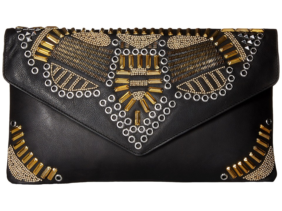 ASH - Zuma - Clutch (Black) Clutch Handbags