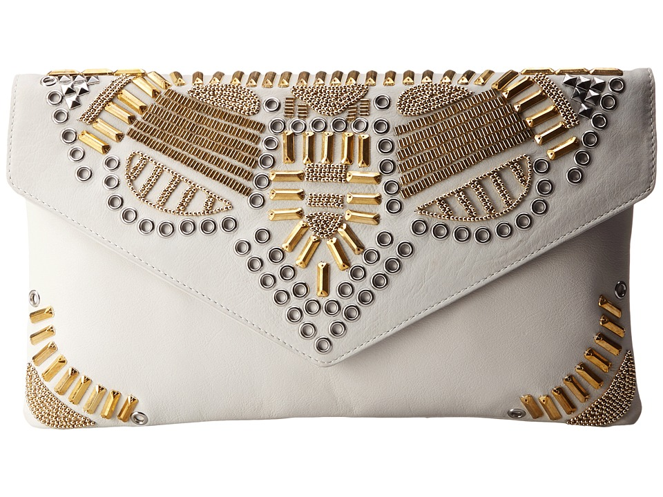 ASH - Zuma - Clutch (Off White) Clutch Handbags