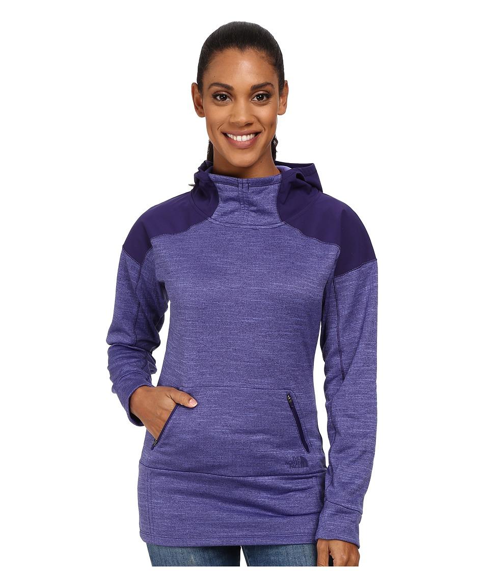 The North Face - Dynamix Hoodie (Garnet Purple Heather/Garnet Purple) Women's Sweatshirt