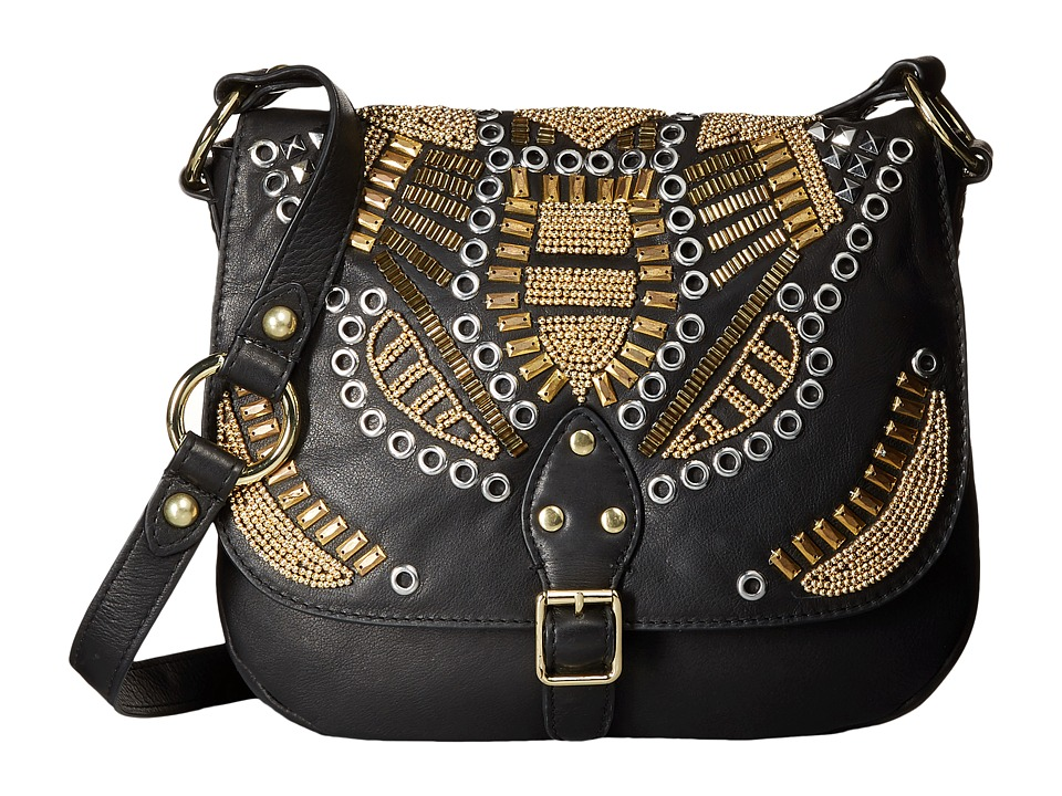 ASH - Zuma - Crossbody (Black) Cross Body Handbags
