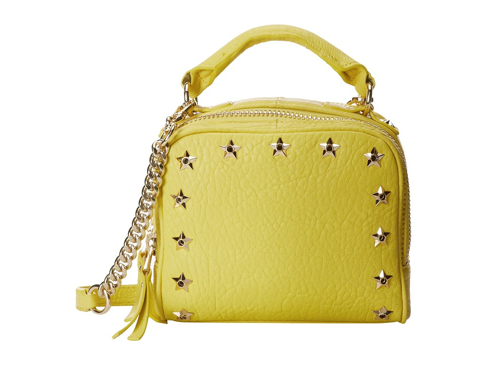 ASH - Frankie (Bubble) - Crossbody (Acid Yellow) Cross Body Handbags
