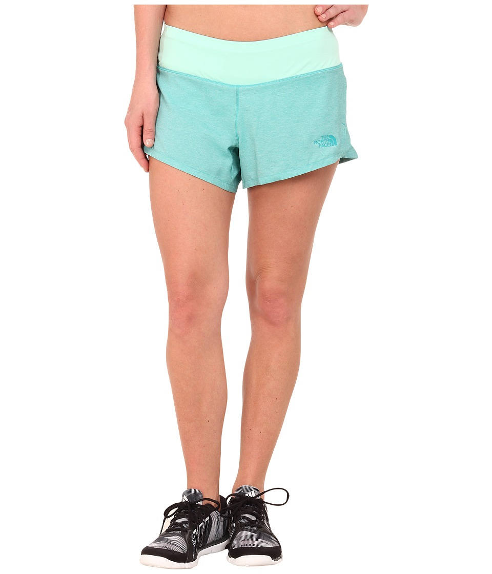 The North Face - MA-X Short (Kokomo Green Heather/Surf Green) Women's Shorts