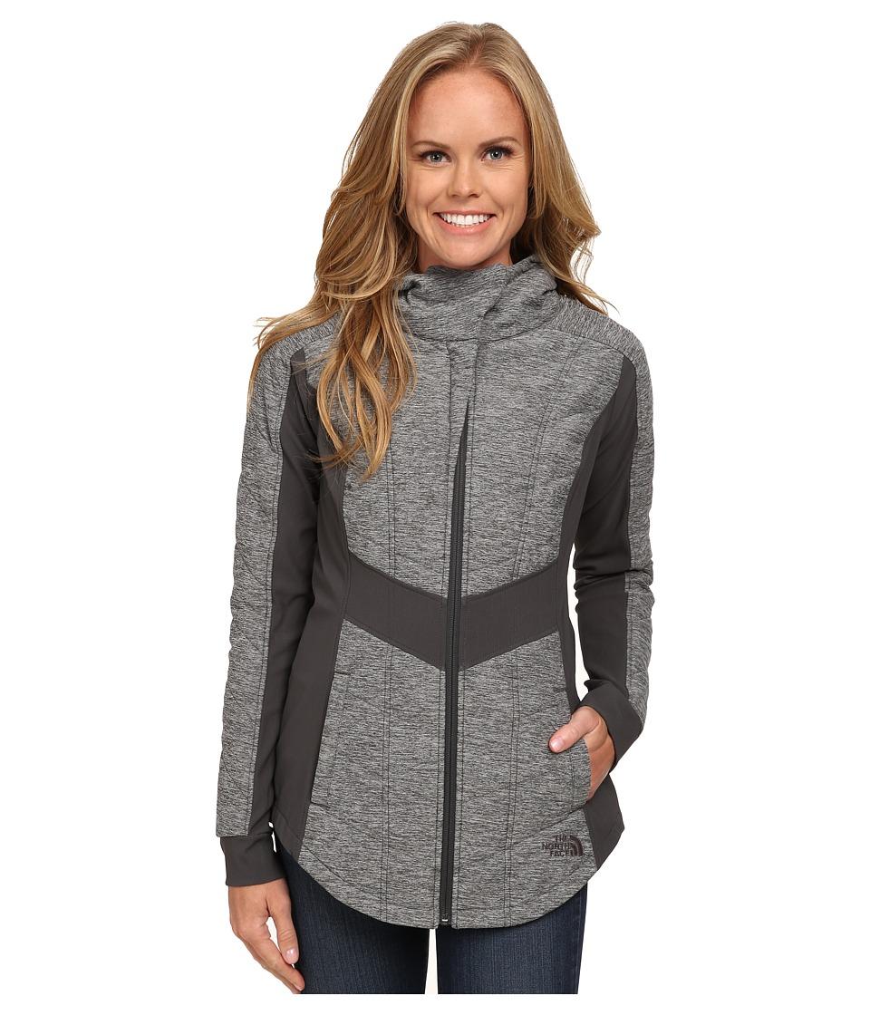 The North Face - Pseudio Jacket (Asphalt Grey/Asphalt Grey Heather) Women's Coat
