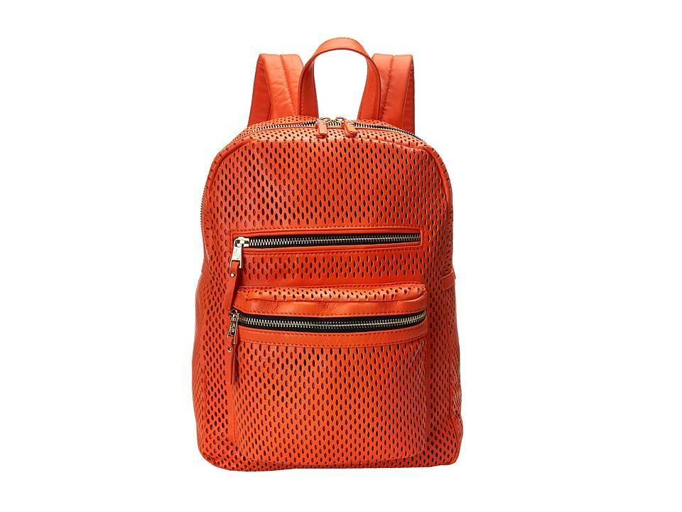 ASH - Danica (Perf) - Medium Backpack (Blood Orange) Backpack Bags