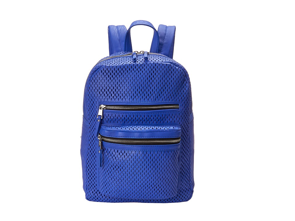 ASH - Danica (Perf) - Medium Backpack (Cobalt) Backpack Bags