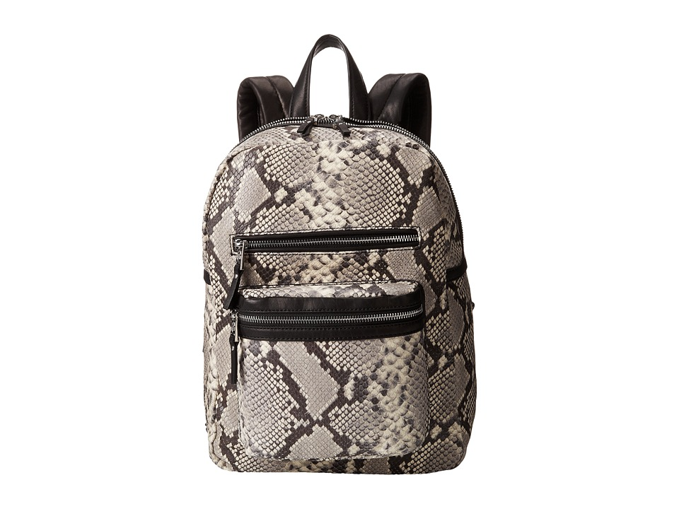 ASH - Danica-Python - Medium Backpack (Natural/Black) Backpack Bags