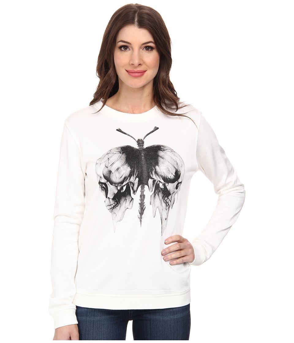 Diesel - F-Radi-M Sweatshirt (Ivory) Women