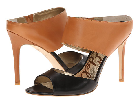 Sam Edelman - Scotti (Black/Camel) High Heels