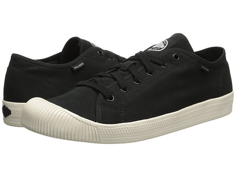 Palladium - Flex Lace (Black/Marshmallow) Men