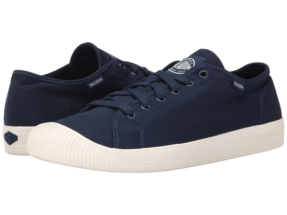 Palladium - Flex Lace (Navy/Marshmallow) Men's Shoes