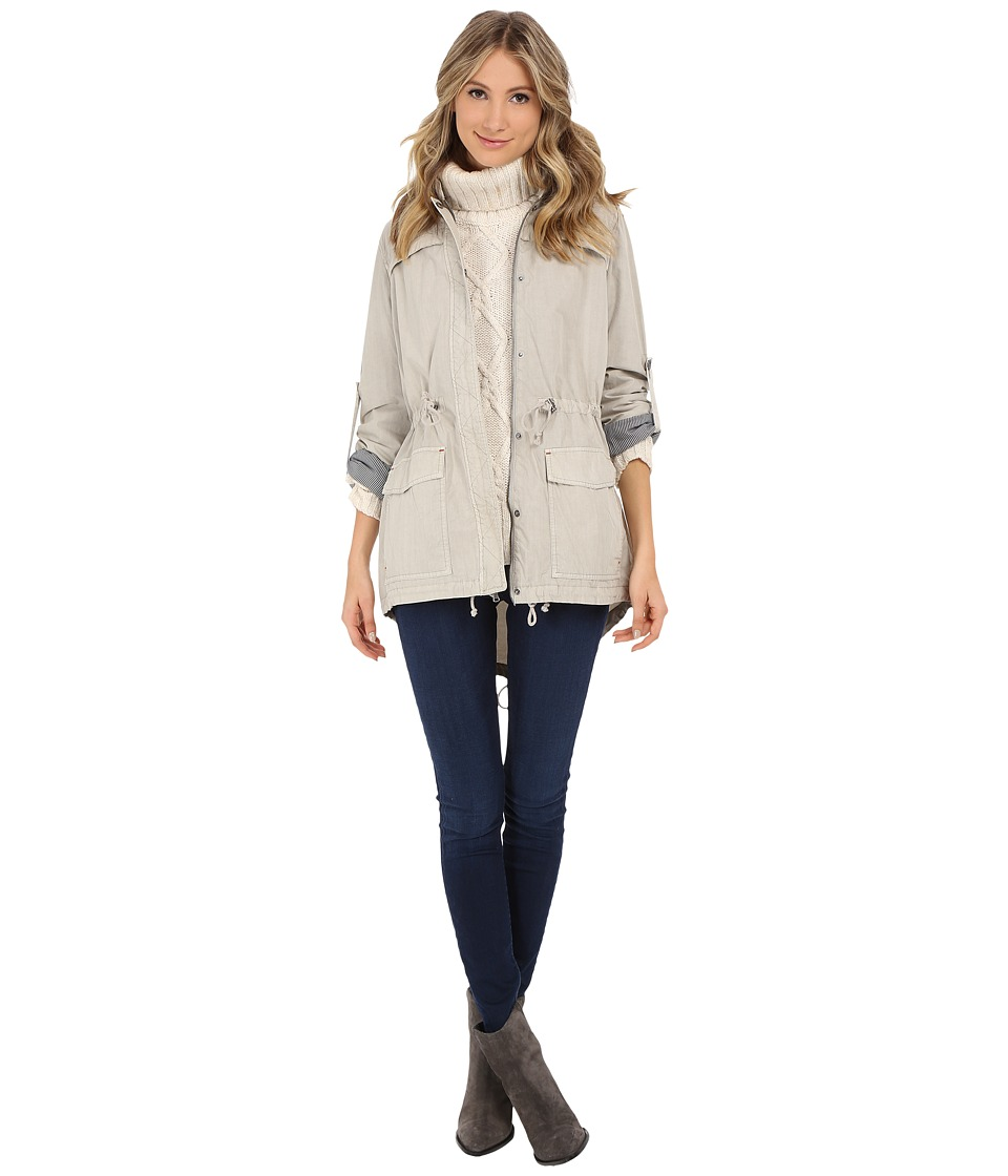 Levi's(r) - Classic Light Weight Parka (Moonbeam) Women's Coat