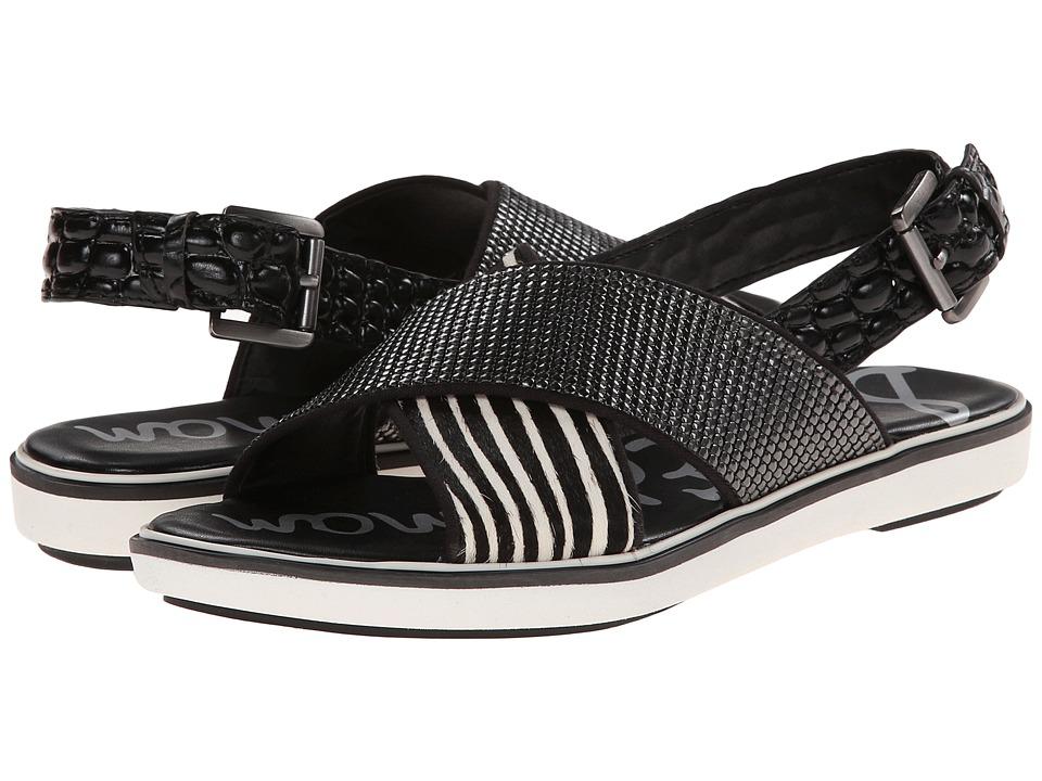 Sam Edelman - Jolan (Jolan Black Ivory) Women's Sandals