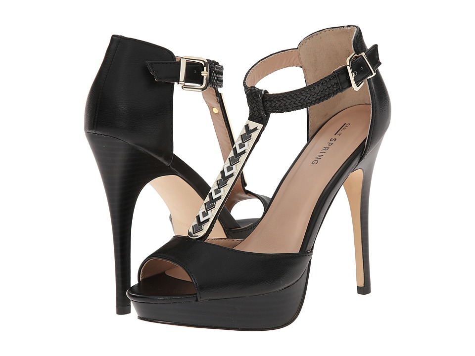 Call it SPRING - Visage (Black) High Heels