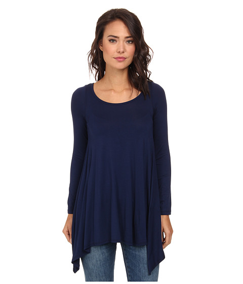 Culture Phit - Julie Tunic (Navy) Women's Blouse