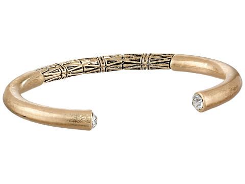 Sam Edelman - Carved Open Cuff Bracelet (Gold) Bracelet