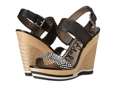 Sam Edelman - Korinne (Black) Women's Wedge Shoes