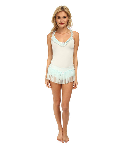 Betsey Johnson - Ballerina Shorts Set (Betty Blue) Women's Pajama Sets