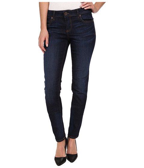 KUT from the Kloth - Diana Skinny in Gleeful/Dark Stone Base Wash (Gleeful/Dark Stone Base Wash) Women