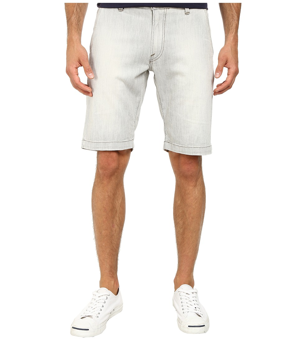 Agave Denim - Griff Oceanside Flex Shorts (Stone) Men