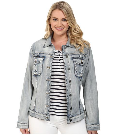 KUT from the Kloth - Plus Size Amelia Denim Jacket (Sweet) Women