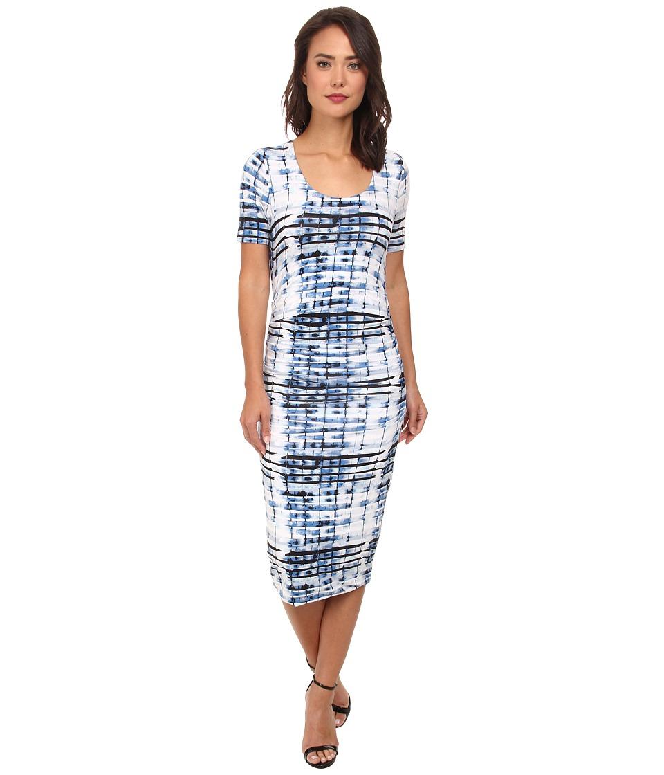 Lysse - Marias Short Sleeve Dress (Bamboo Print) Women's Dress