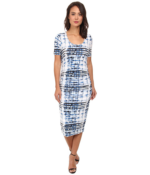 Lysse - Marias Short Sleeve Dress (Bamboo Print) Women