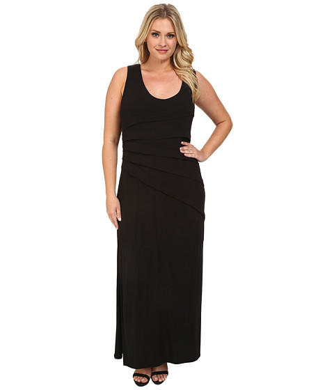 Lysse - Plus Size Maxi Dress (Black) Women's Dress