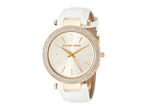 Michael Kors - MK2391 - Darci (Gold/White) Watches
