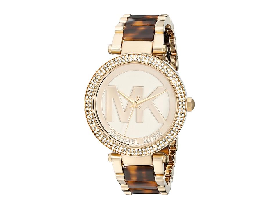 Michael Kors - MK6109 - Parker (Gold/Tortoise) Watches