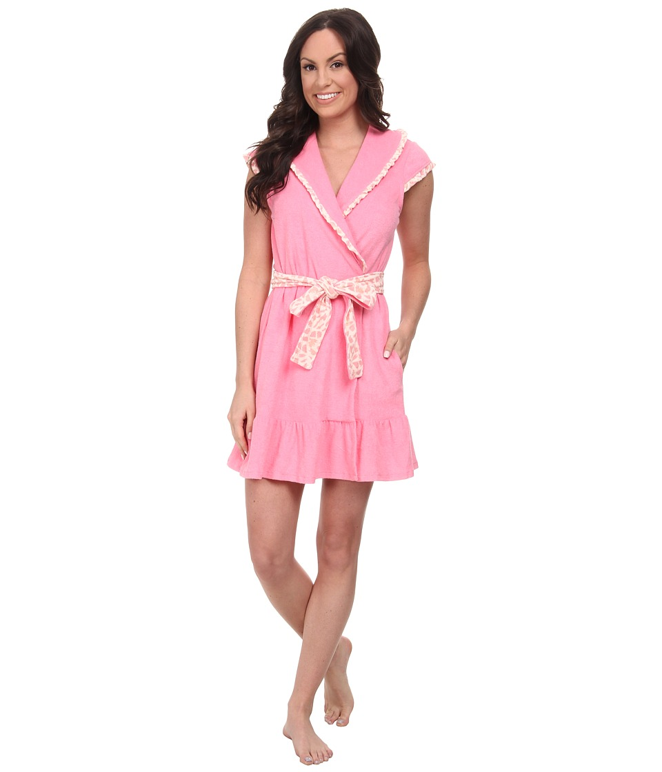 Betsey Johnson - Baby Terry Robe (Pink Cheeks) Women