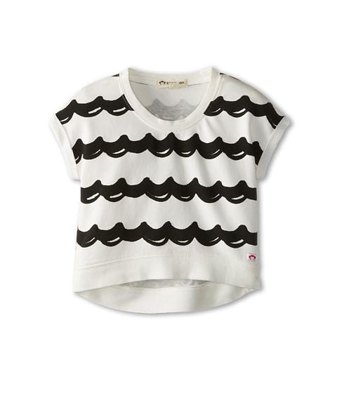 Appaman Kids - Super Soft Rolled Sweatshirt (Toddler/Little Kids/Big Kids) (Wavy) Girl