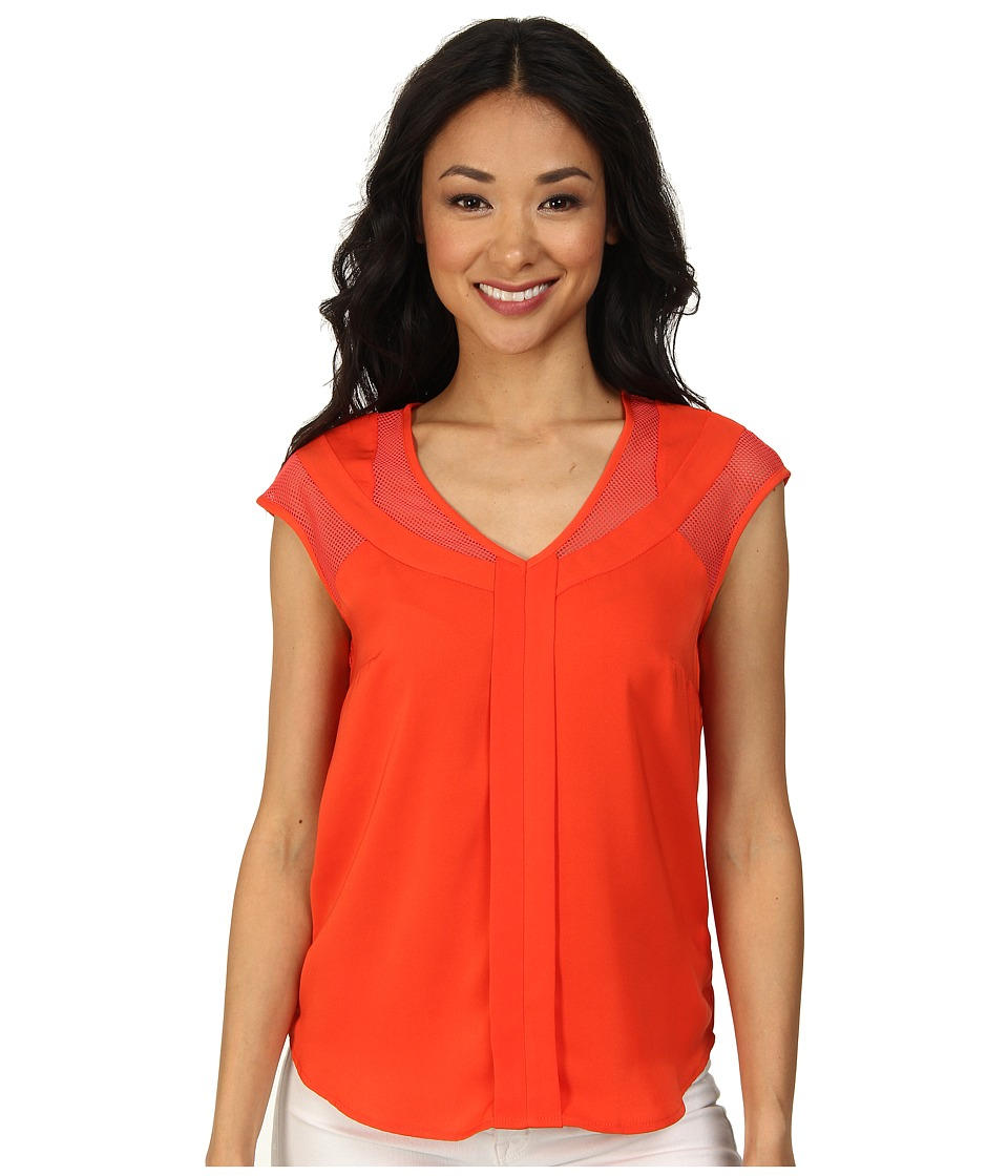 KUT from the Kloth - Faizah Top (Sunrise) Women's Blouse