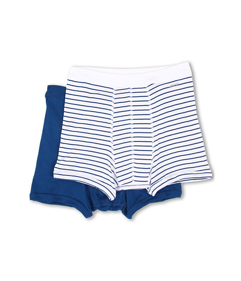 Jockey - Seamless WB Boxer Midway Brief (Kellan Stripe/So Blue) Men