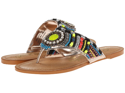 Naughty Monkey - Electric Shine (Lime) Women's Sandals