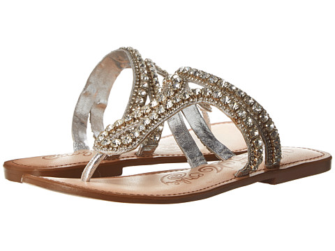 Naughty Monkey - Field Of Dreams (Silver) Women's Sandals