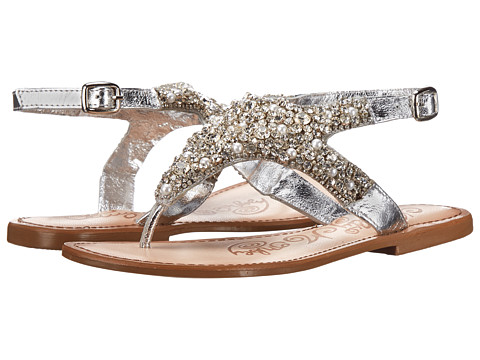 Naughty Monkey - Tinker Bella (Silver) Women's Sandals